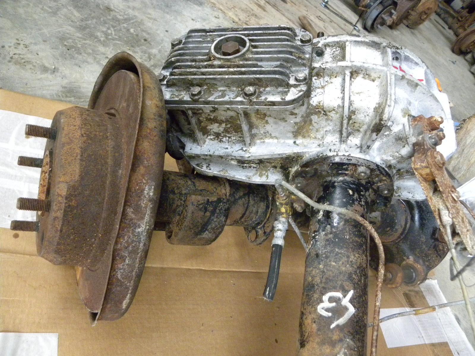Jw Spares Alfa Romeo Rear Axle With Differential 9 43 Report Giulia
